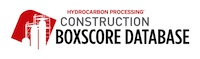 Construction Boxscore Database for Gas Processing